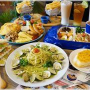 台中親子餐廳║森森親子義式餐廳,綠色植栽彷彿置身森林裡用餐,遊戲區×扮演烹飪區,小孩的天堂!