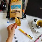 金鴨鹹蛋黃炸魚皮、鹹蛋黃薯片|米其林美食節指定零食台灣也買的到哦!!