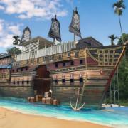 打卡最新亮點!童話風可愛海盜村,超巨大海盜船、3D彩繪牆、童話世界場景,門票還可以餐點!