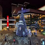 2019新光三越信義新天地-17米高萬花筒耶誕樹