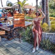 |關於美食(台東 x 可可娜咖啡 coconut cafe)|禾乃氏口袋食堂分享日誌-東岸吹海風曬陽光,茅草涼亭下瞭望迷人蔚藍海。