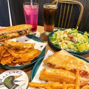 (台北忠孝復興站)Mallard Grilled Cheese Eatery 野鴨小餐館 東區市民大道最好吃的熱壓三明治 口味眾多 酥脆薯條自製薯片超美味 美式風格餐館