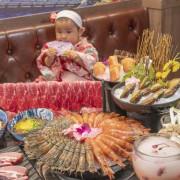 台北吃到飽 哞哞屋和牛燒肉|西門町美食,肉控最愛!雙和牛、戰斧豬、鮑魚呷免驚!大口爽嗑頂級燒肉只要888元! · 算命的說我很愛吃