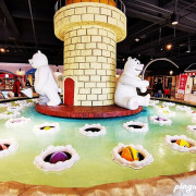 寶熊漁樂碼頭|台中親子免費景點 全台唯一釣具觀光工廠 巨無霸旋轉釣魚機/虛擬釣場/3D海洋劇場