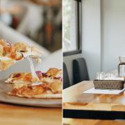 新北深坑美食 莫內咖啡莊園|面山的景緻讓人摒息,臭豆腐披薩更是無人能敵!深坑老街新去處推薦 ♥ 寵物友善餐廳