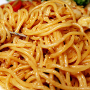 「新莊義大利麵」【好久不見】價位平實,不輸高檔餐廳的優質美味,百元商業午餐,附飲料或湯品,小資族的小確幸!