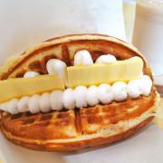 【醬~鬆餅】Jam~Waffle 早午餐下午茶推薦~合理的價位,溫溫熱熱口感適中,超值又可口( 羅東)