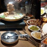 【台北美食】三創高麗園 韓式銅盤烤肉吃到飽 主菜 小菜 湯品 三創美食推薦 韓式料理推薦