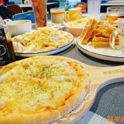 [食記] 新竹峨眉-貨櫃89咖啡 彩虹隧道親子同遊 滿滿起司披薩 料多多義大利麵 鬆餅咖啡 正餐下午茶 一次滿足 新竹美食