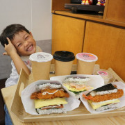 。新竹食記。米咕家 日式飯糰.早餐就吃用優良台東米手作的沖繩飯糰