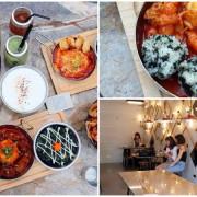 台中西區【KATZ 卡司複合式餐廳】美術館旁美韓式創意料理,時尚裝潢好拍照網美愛店