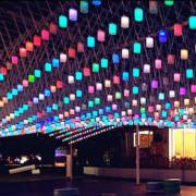 2014勤美聖誕村跨年做公益!萬盞LED燈,等你來認領!還有好玩的心理測驗遊戲喔!