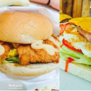 2017上班族路過必買中壢早餐/三堡家庭式餐車/比手掌還大炸豬排給你一整天好心情!