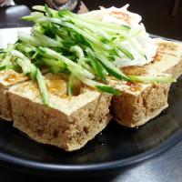 台中市美食 餐廳 素食 素食 非常香 臭豆腐麵線糊 照片