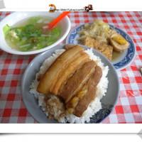 宜蘭縣美食 攤販 台式小吃 羅東民權路 無名焢肉飯 照片