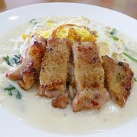 桃園市美食 餐廳 速食 早餐速食店 香堤咖啡三明治 照片