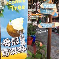 台南市美食 攤販 冰品、飲品 椰子樹coconut Tree-椰殼霜淇淋 照片