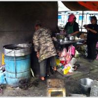 基隆市美食 攤販 台式小吃 鐵路邊胡椒餅 照片