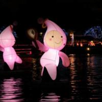 高雄市休閒旅遊 景點 觀光商圈市集 高雄愛河元宵賞花燈 照片