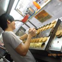 桃園市美食 攤販 甜點、糕餅 阿Q脆皮車輪餅 照片