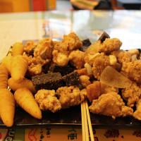 高雄市美食 攤販 鹽酥雞、雞排 炸去啃 照片