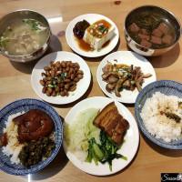 台中美食|祖傳爌肉飯不會太過油膩很美味,小菜滷的入味好吃,漢口路深夜美食