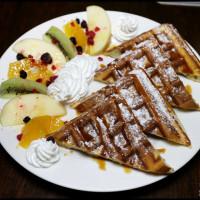 【公館咖啡廳】Cafe Bastille 台大~白天是提供異國料理簡餐的咖啡廳,晚上變身餐酒館酒吧,有包廂聚餐包場服務!