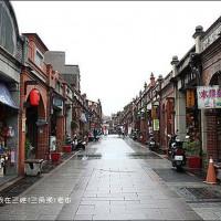 『新北。三峽(三角湧)老街』~三峽金牛角/鄭記豬血糕/三峽祖師廟