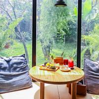 桃園楊梅美食-我享I ENJOY-森林系混搭工業風格不限時咖啡廳/早午餐 甜點 咖啡/鄰近四維兒童公園