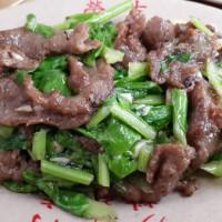 台南市美食 餐廳 中式料理 台菜 榮吉炒牛肉專賣店 照片