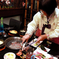 台南市美食 餐廳 異國料理 韓式料理 東大門韓國烤肉料理 照片