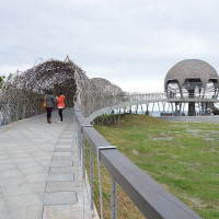 台東縣休閒旅遊 景點 海邊港口 台東海濱公園 照片
