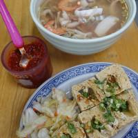 高雄市美食 攤販 台式小吃 香味海產粥 照片