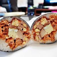 台北市美食 攤販 台式小吃 劉媽媽飯糰 照片