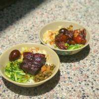 台北市美食 攤販 台式小吃 鄭記豬腳飯 照片