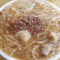 台北市美食 攤販 麵線 同安街麵線羹 照片