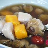 新北市美食 餐廳 飲料、甜品 甜品甜湯 廟邊阿珠芋圓 照片
