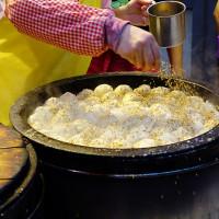 台北市美食 攤販 包類、餃類、餅類 許記生煎包 照片