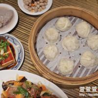 台北市美食 餐廳 中式料理 麵食點心 盛園絲瓜小籠湯包 照片