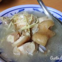 台北市美食 餐廳 中式料理 小吃 許仔豬腳麵線 照片
