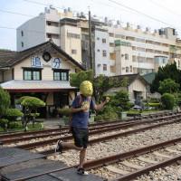 台中市休閒旅遊 景點 車站 追分火車站 照片