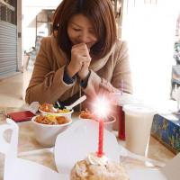 台中市美食 餐廳 中式料理 中式早餐、宵夜 日出廣東粥飯糰 照片