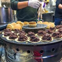 台北市美食 攤販 甜點、糕餅 晴光紅豆餅(大安店) 照片