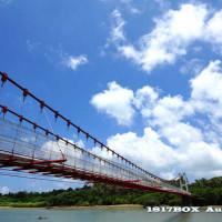 屏東縣休閒旅遊 景點 海邊港口 港口吊橋 照片