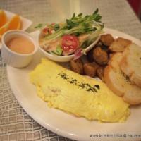 台中市美食 餐廳 異國料理 美式料理 伯朗區 BON JOUR BRUNCH 美式輕食 照片