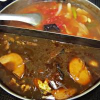 台北市美食 餐廳 火鍋 麻辣鍋 小心上癮素食麻辣火鍋 照片