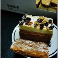 桃園市美食 餐廳 烘焙 蛋糕西點 大溪拿破崙派 照片