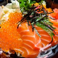 台北市美食 餐廳 異國料理 日式料理 老漁夫 平價生魚片丼飯 照片