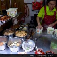 台北市美食 攤販 台式小吃 光華垃圾麵 照片