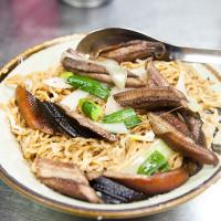 台南市美食 餐廳 中式料理 眼鏡鱔魚意麵 照片